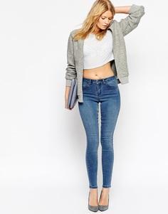 Облегающие джинсы ASOS Premium - Синий