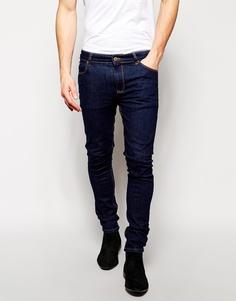 Супероблегающие джинсы цвета индиго ASOS - Indigo - индиго