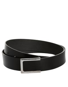 Кожаный ремень Esprit Simon - Черный