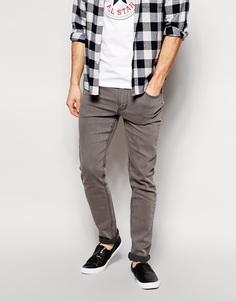 Серые выбеленные облегающие джинсы Cheap Monday - Серый