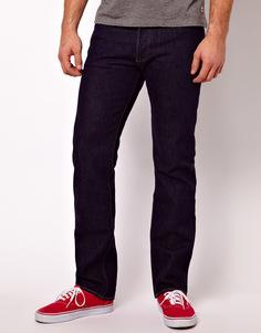 Однотонные прямые джинсы Levi's 501 - Синий Levi's®