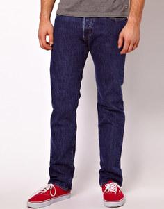 Прямые джинсы из стиранного денима Levi's 501 - Синий Levi's®