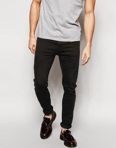 Черные облегающие джинсы Cheap Monday - Черный