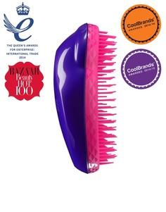 Фиолетово-розовая профессиональная щетка для спутанных волос Tangle Teezer - Фиолетовый и розовый