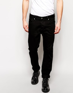 Прямые черные джинсы ASOS - Черный