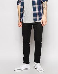 Эластичные черные джинсы скинни Levi's Jeans 510 Moonshine - Новый сияющий черный Levi's®