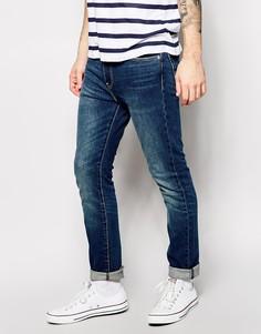 Зауженные выбеленные джинсы синего цвета Levi's 510 - Синий Levi's®