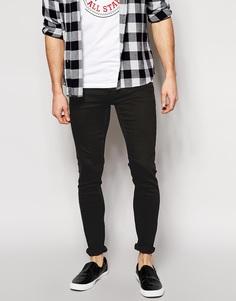 Облегающие джинсы узкого кроя Cheap Monday - Черный