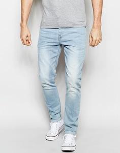Зауженные джинсы ASOS - Синий