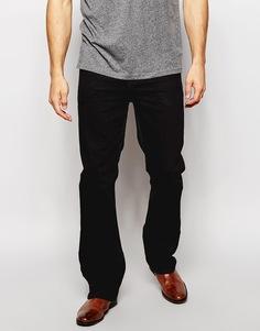 Черные джинсы с легким клешем ASOS - Черный