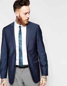 Приталенный пиджак с застежкой на 2 пуговицы Esprit - Пепельно-голубой