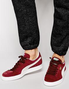 Замшевые кроссовки Puma - Красный
