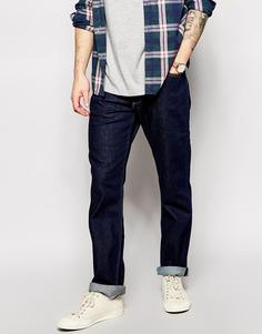 Темные эластичные джинсы прямого кроя Lee Brooklyn - Темный