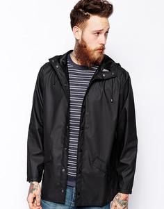 Короткая непромокаемая куртка Rains - Черный