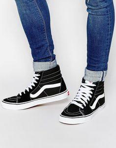Высокие кроссовки Vans Sk8 - Черный