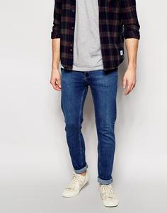 Ультразауженные джинсы из классического темного денима Cheap Monday - Синий