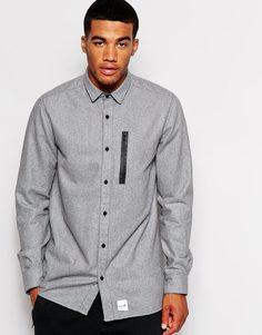 Шерстяная рубашка Boxfresh Corriss - Серый