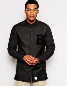 Университетская рубашка Boxfresh Cosham - Черный