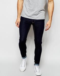 Ультразауженные джинсы цвета индиго ASOS - Indigo - индиго