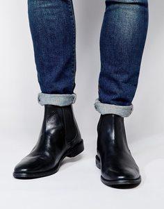 Кожаные ботинки ASOS Chelsea - Черная кожа
