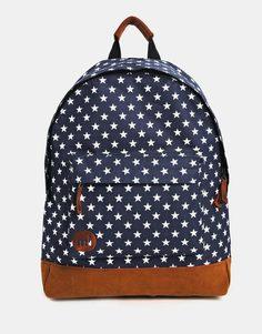 Темно-синий рюкзак со звездами Mi‑Pac - Темно-синий