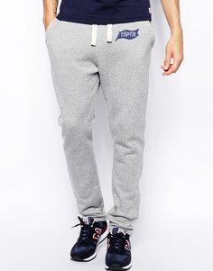 Спортивные брюки с логотипом TSPTR - Серый