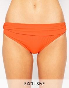 Плавки бикини эксклюзивно для ASOS FULLER BUST Marilyn - Оранжевый