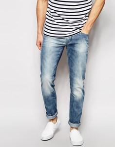 Светлые винтажные узкие джинсы Blend Twister - Светлый