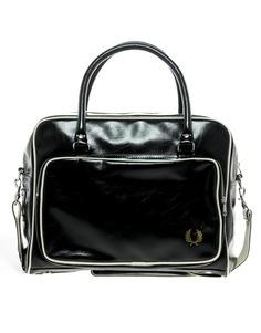 Дорожная сумка Fred Perry - Черный