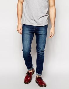 Облегающие джинсы цвета темный индиго Cheap Monday - Синий