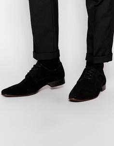 Замшевые туфли дерби ASOS - Черный