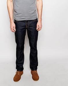 Зауженные джинсы Nudie Jeans Grim Tim Dry Wash Ring - Dry ring