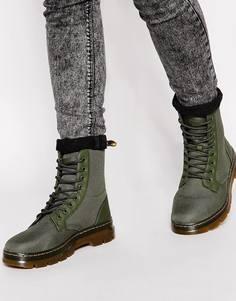 Ботинки Dr Martens - Зеленый