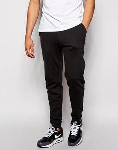 Штаны для бега узкого кроя ASOS - Выбеленный черный