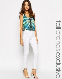 Узкие брюки Y.A.S Tall - Белый
