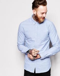 Оксфордская рубашка Dr Denim - Синий