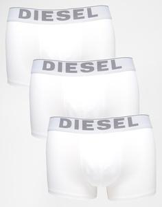 3 пары боксеров-брифов из эластичного хлопка Diesel - Белый