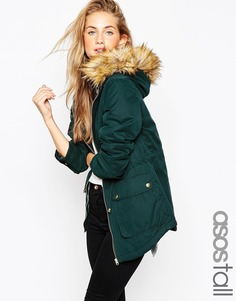 Парка ASOS TALL Ultimate - Темно-синий