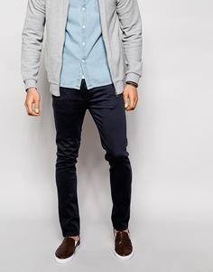 Эластичные джинсы слим Farah - Темно-синий
