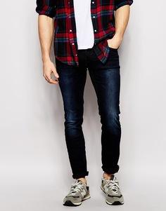 Облегающие джинсы Blend Cirrus - Темно-синий