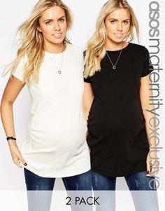 2 туники для беременных с круглым вырезом ASOS Maternity