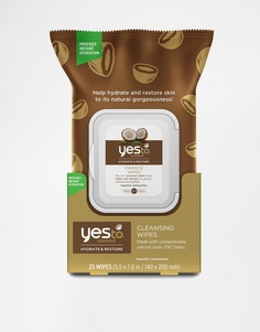 25 очищающих салфеток с экстрактом кокоса Yes To - Coconut