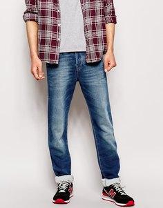 Выбеленные джинсы слим True Religion Clearwaters - Clear waters