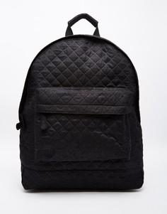 Черный стеганый рюкзак Mi-Pac - Черный