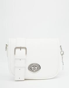 Небольшая седловидная сумка Marc B - Белый