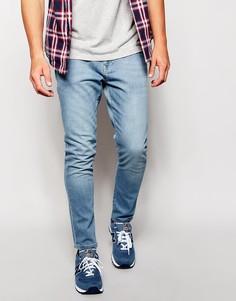 Светлые джинсы скинни Brooklyn Supply Co - Светлый