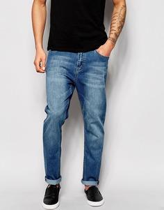 Синие зауженные джинсы Cheap Monday - Rise above