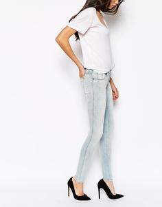Супероблегающие джинсы Dr Denim Kissy - Синий