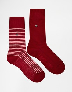 2 пары носков в полоску Levi's - Красный Levi's®