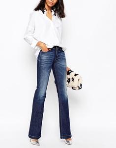 Расклешенные джинсы Sportmax Code Comodo - Темно-синий